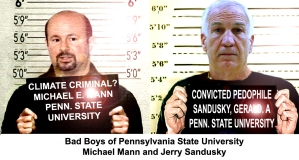 Bad Boys Michael Mann and Jerry Sandusky Line Up for Penn State University