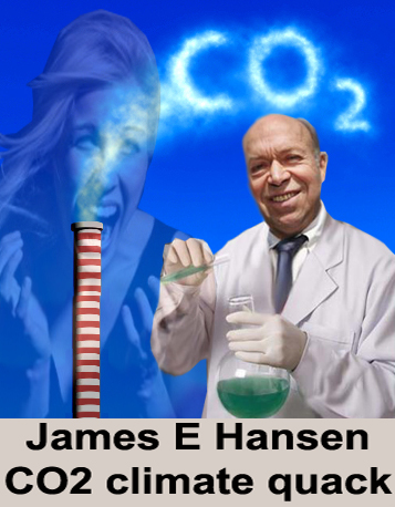Carbon Dioxide Not the Devil He Claims
