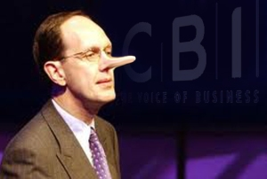 John Cridland, Head of the CBI, Is he telling the truth about Big Green?