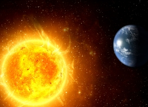 Our Sun heats Earth on One Side Only